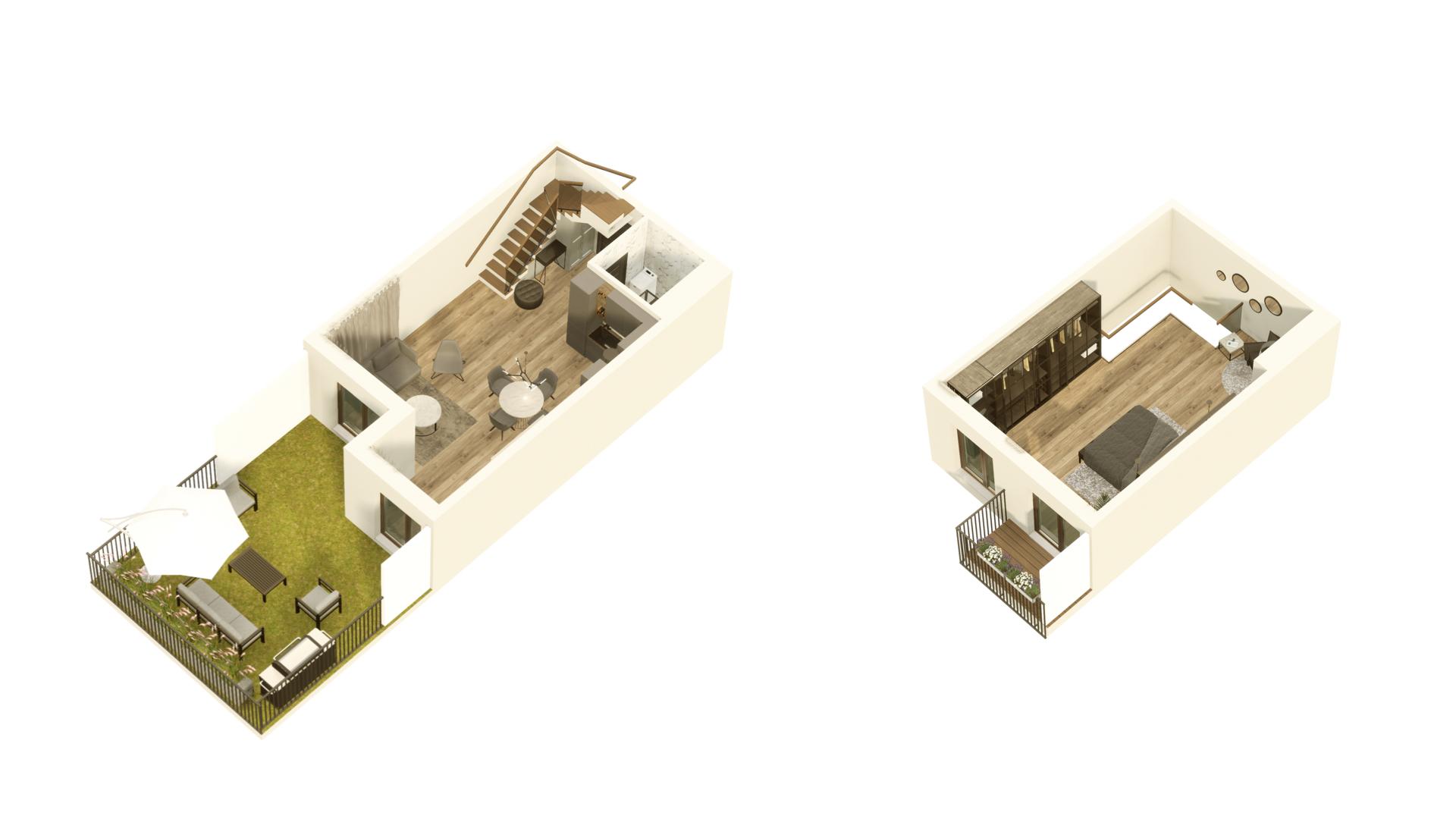 GARDINO PARK Mieszkania 04 3D