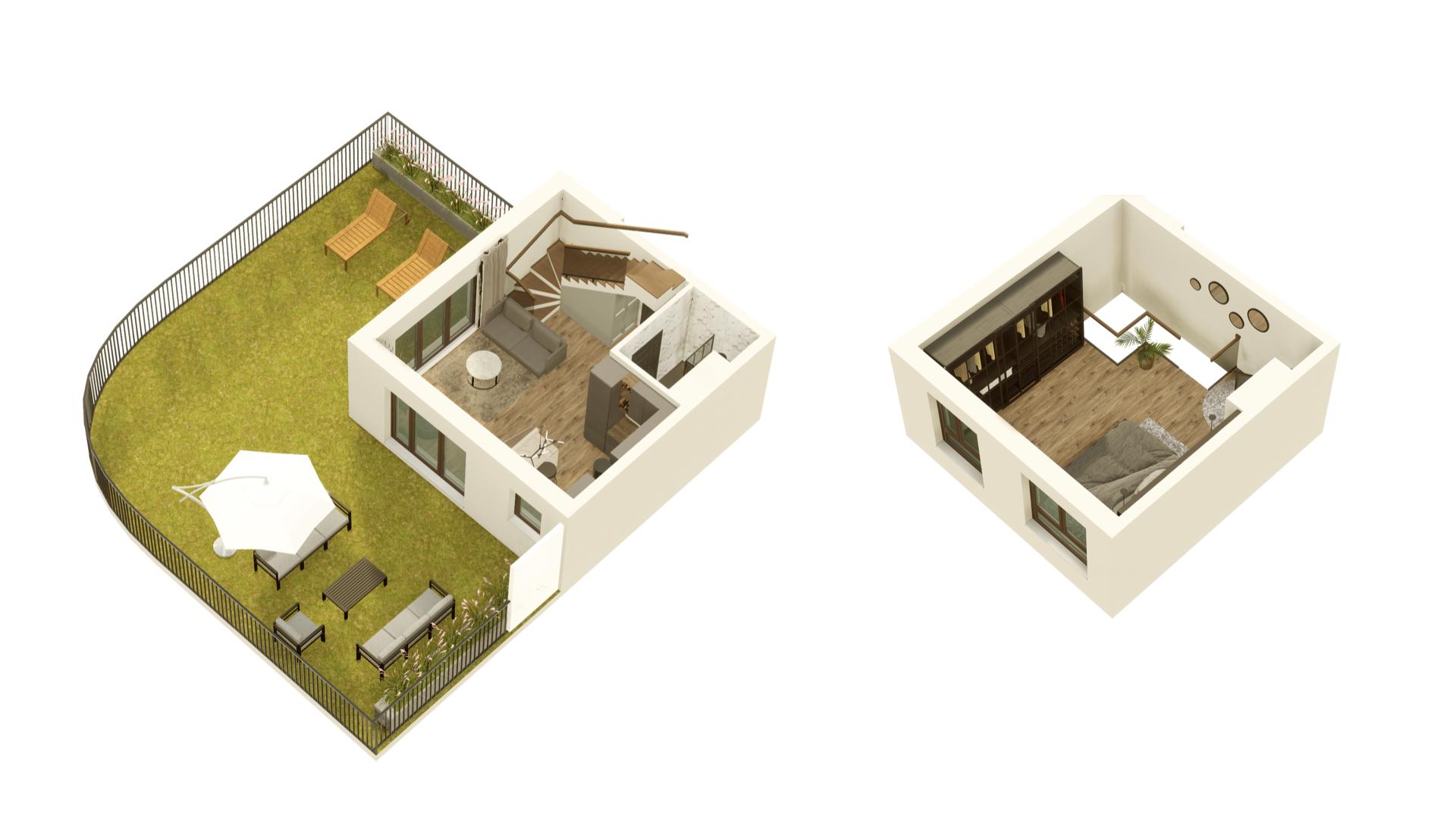 GARDINO PARK Mieszkanie 02 3D