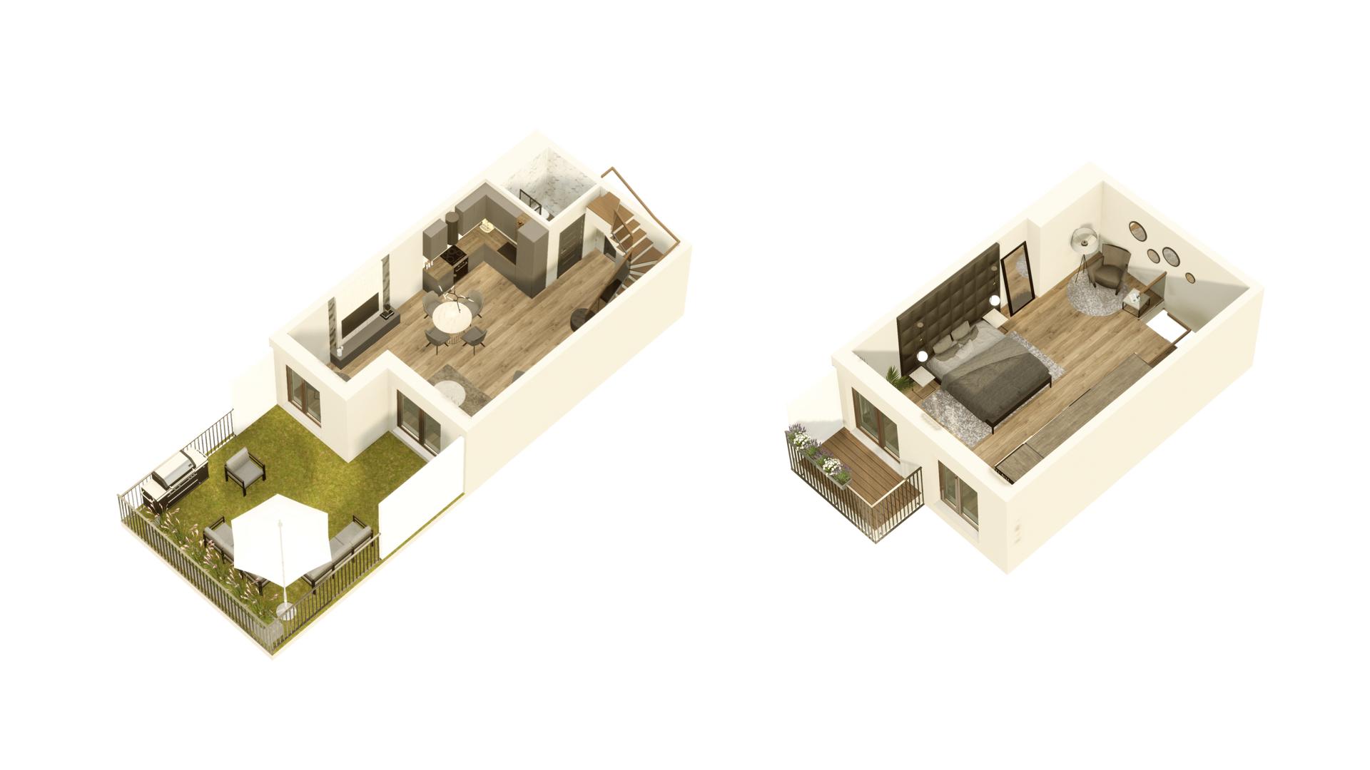GARDINO PARK Mieszkanie 05 3D