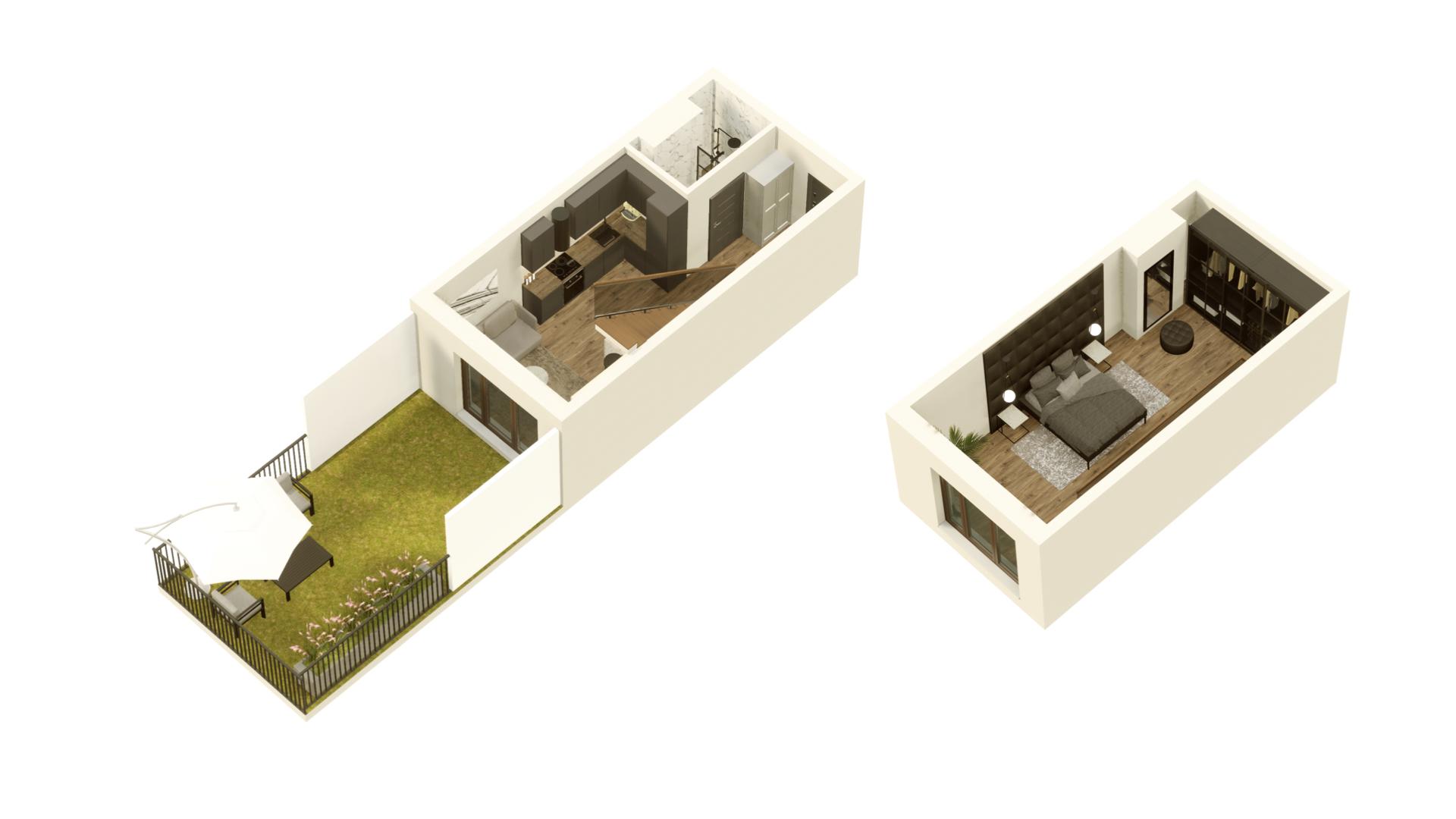 GARDINO PARK Mieszkanie 11 3D