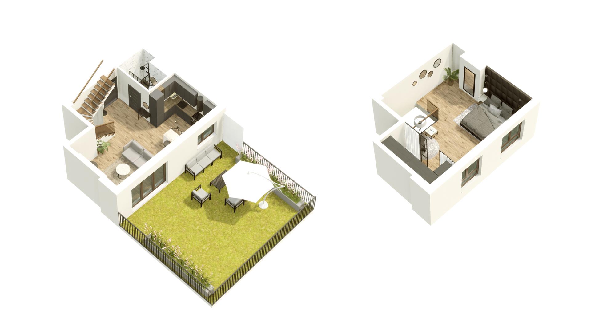 GARDINO PARK Mieszkanie 18 3D