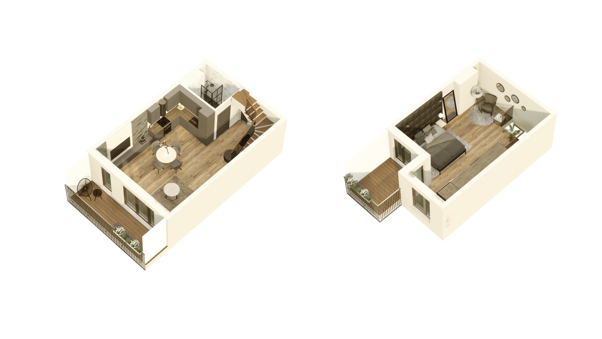 GARDINO PARK Mieszkanie 47 3D
