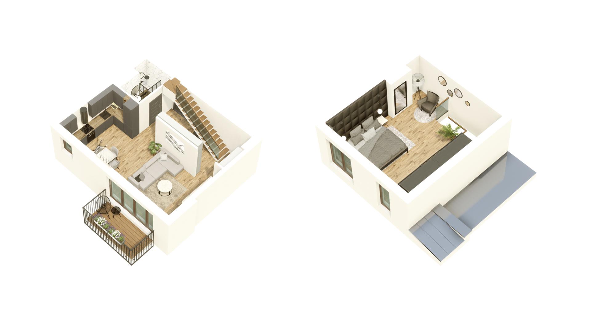 GARDINO PARK Mieszkanie 57 3D
