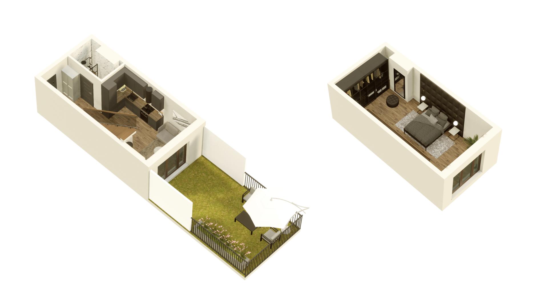 GARDINO PARK Mieszkanie 9 3D